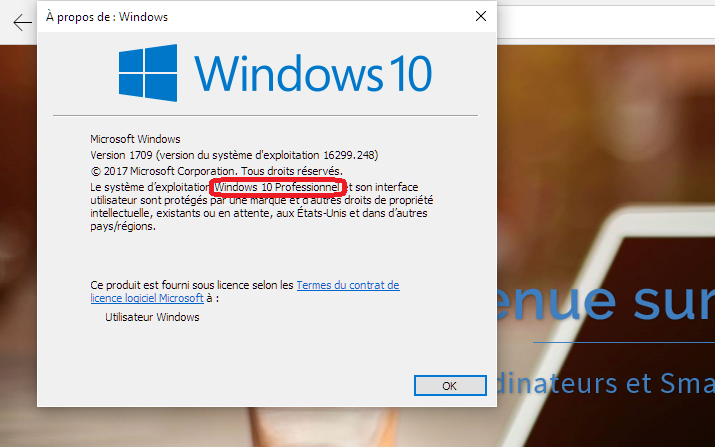 Mediacare désactiver mises à jour Windows update Windows 10 Pro Gif-sur-Yvette